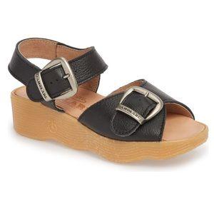 Double Play Platform Sandal FAMOLARE Retro Wedge